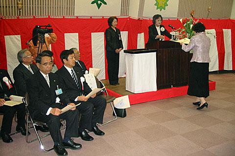 きらめき市民大学・大学院卒業式