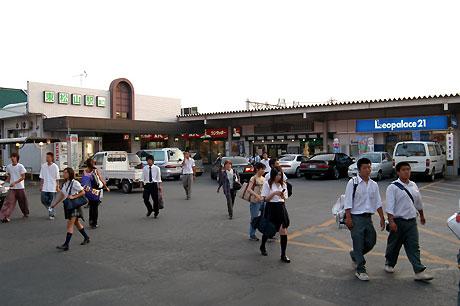 旧東松山駅