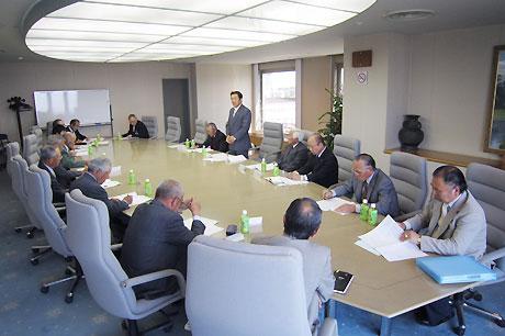 東松山市土地改良区連絡協議会通常総会