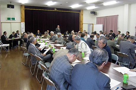 東松山市行政パートナー連絡協議会松山支部総会