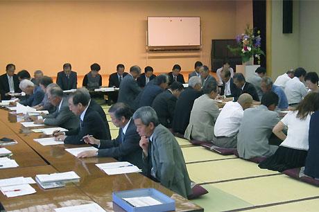 社会福祉協議会高坂支部、高坂地区ハードピアまちづくり協議会合同総会