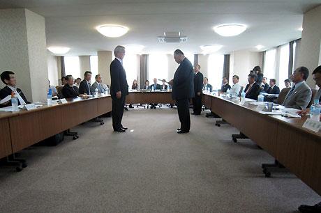 日本体育協会第4回理事会
